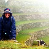 Roberta Martins at Machu Pichu