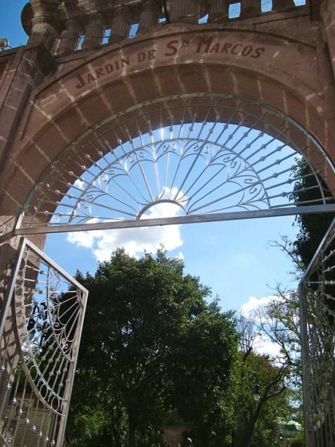Gate of San Marcos garden