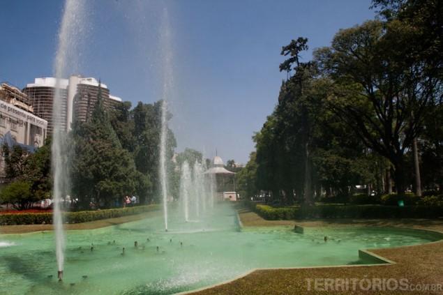 Fountain at Liberdade Square