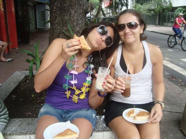 Clá and I at Polis