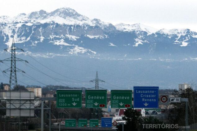 Switzerland freeways