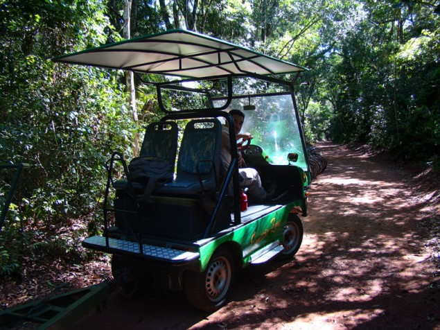 Transportation in the trail