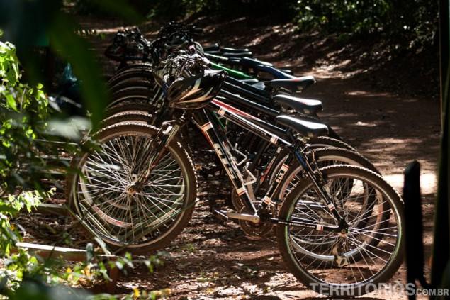 Transportation by bike