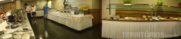 Large breakfast at Bella Italia
