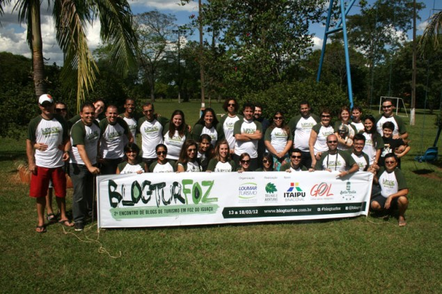 New friends in Foz do Iguaçu