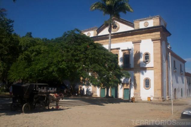 Matriz Church in the morning