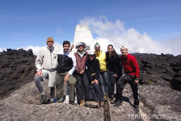 O grupo completo no Ponto Triplo