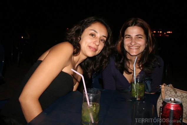 Mojito at Morro with Ana