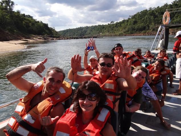 Anxious bloggers – Gleiber, Clarissa, Luiz Jonathan, Vivian and I