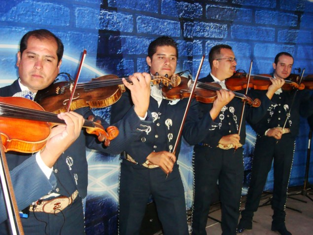 Mariachis performance is a must