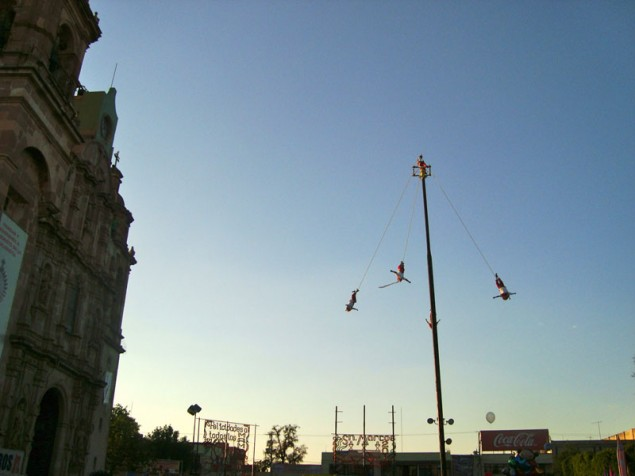 The Fair also presents rituals of Mexican ancient peoples