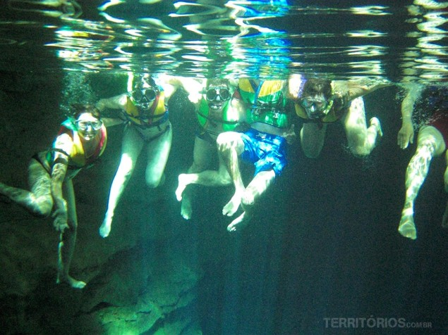 Fun and pictures under water