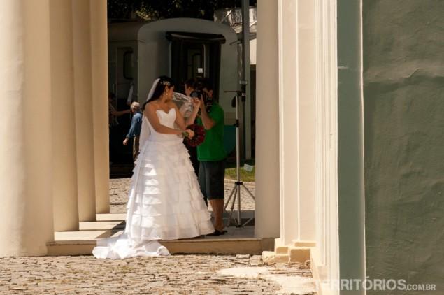 Bride at Vale Museum