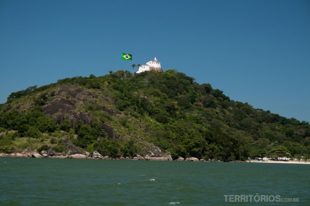 The Convent seen from Vitória Bay