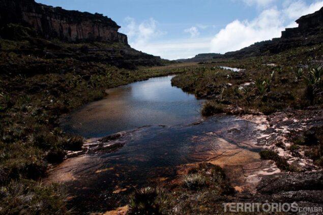 Natural pool in Vale do Arabobo