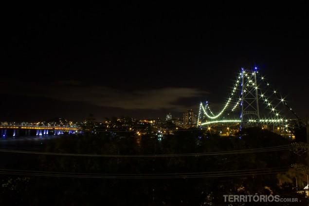 Hercílio Luz Bridge, Florianópolis, Santa Catarina – Brazil