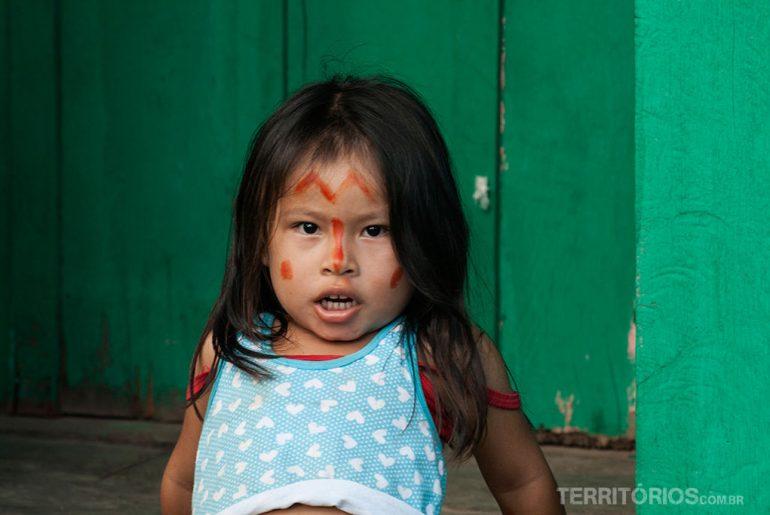 Little Amazon girl